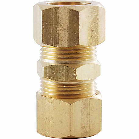 LDR 1/4 in. Brass Compression Union