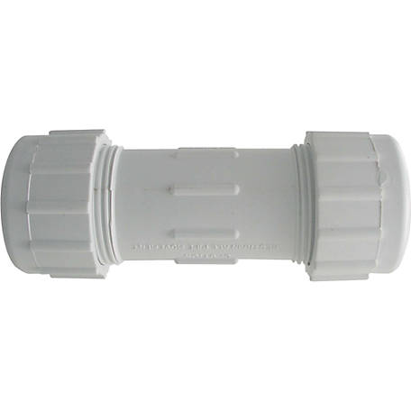 LDR 1 in. PVC Comp Coupling