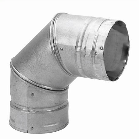 DuraVent PelletVent 90 deg. Elbow, 4PVL-E90R
