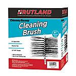 Rutland Chimney Sweep Chimney Brush, 8 in. Square Wire, 1/4 in. NPT