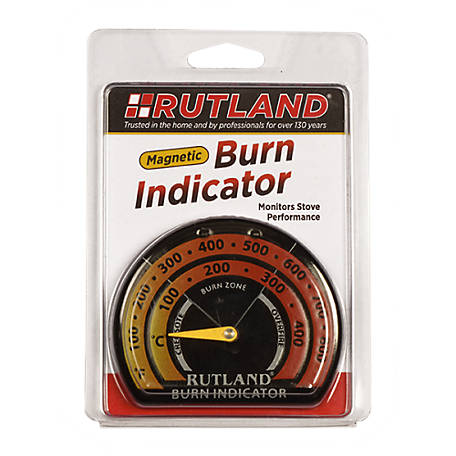 Rutland Stove Thermometer/Burn Indicator, 701