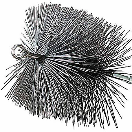 Rutland Chimney Sweep Chimney Brush, 7 in. x 11 in. Rectangular Wire, 1/4 in. NPT