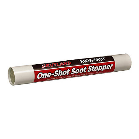 Rutland Kwik-Shot Soot Stopper, 3 oz. Stick
