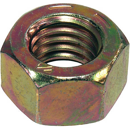 Hillman 9/16 in. -18 Grade 8 Hex Nut