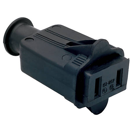 Pass & Seymour 2W/15A Connector, Black