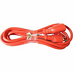JobSmart 16/3 10 ft. Outdoor Extension Cord, Orange