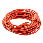 JobSmart 16/3 100 ft. Outdoor Extension Cord, Orange