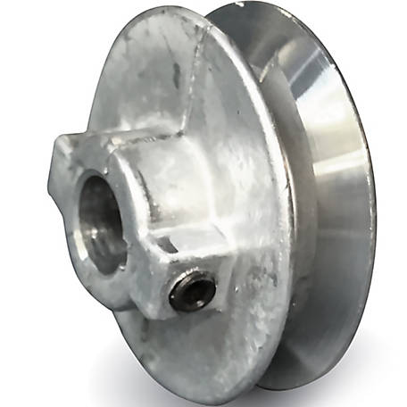 Chicago Die Casting Standard V-Type Belt Pulley, 2-1/2 in. OD x 1/2 in. Bore