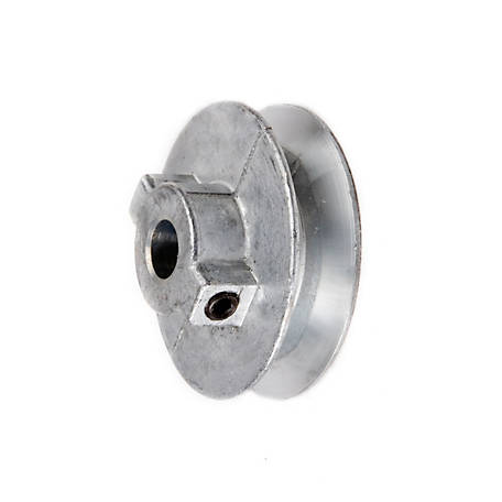 Chicago Die Casting Standard V-Type Belt Pulley, 3 in. OD x 1/2 Bore, No Keyway