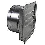 MaxxAir Heavy-Duty Exhaust Fan with Integrated Shutter, 18 in. Blade, IF18