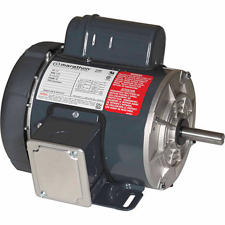 Marathon Electric Farm Duty/Shop Motor, 1/2 HP