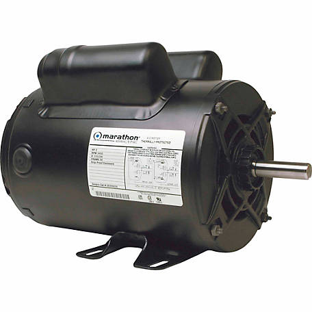 Marathon Electric Air Compressor Motor, 2 HP
