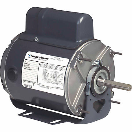 Marathon Electric Fan Motor, 1/4 HP