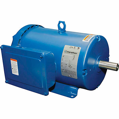 Marathon Electric Farm Duty/Shop Motor, 5 HP