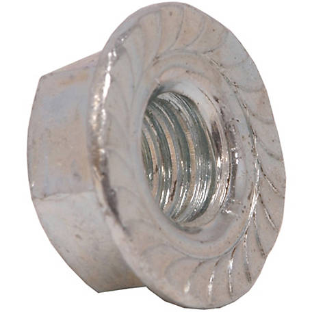 Hillman Grade 5 Serrated Flange Nut, 3/8 in.-16 Coarse Thread