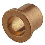 Bronze Flange Bearing, 3/4 in. Inner Dia. x 7/8 in. Outer Dia. x 1-1/8 in. Length