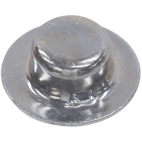 Hillman 1/2 in. Nickel-plated Push Nut