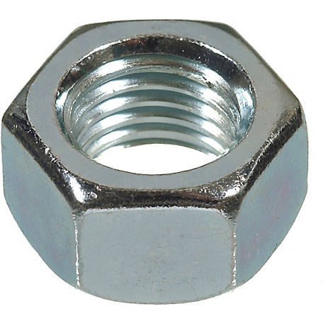 Hillman Metric Hex Nut, M4-0.7 Coarse Thread
