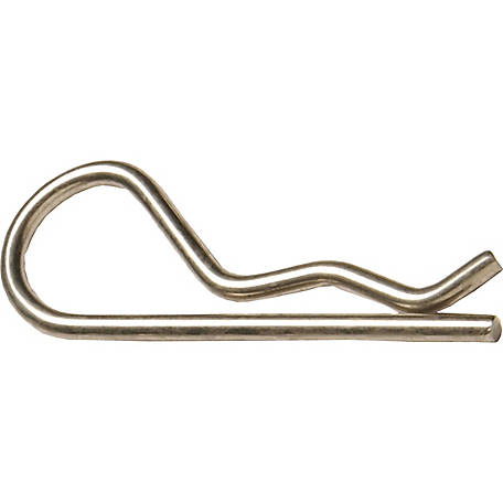 Hillman Hitch Pin Clips, .24 in. Loop Diameter x 4 in. Length