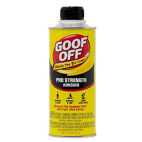 Goof Off Pro Strength Remover, 16 oz. Can, 9002415