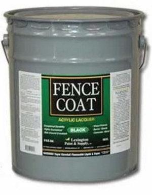 Paint A Fence Black