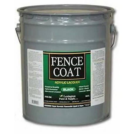 Lexington Fencecoat Acrylic Lacquer Fence Paint 5 Gal Black