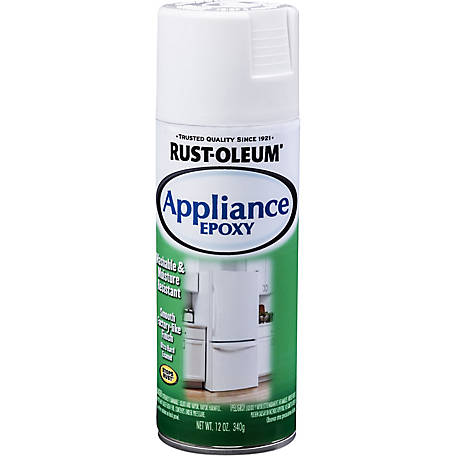 Rust-Oleum Specialty Appliance Spray Paint, Gloss White, 12 oz.