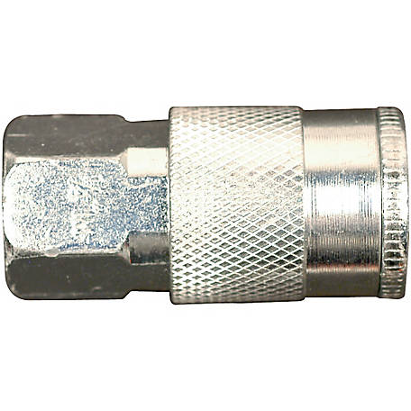 Campbell Hausfeld Bulk 1/4 in. I/M Steel Coupler, Female