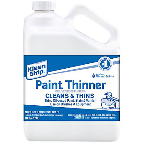 Klean-Strip Paint Thinner Mineral Spirits, 120 oz., GKPT94400
