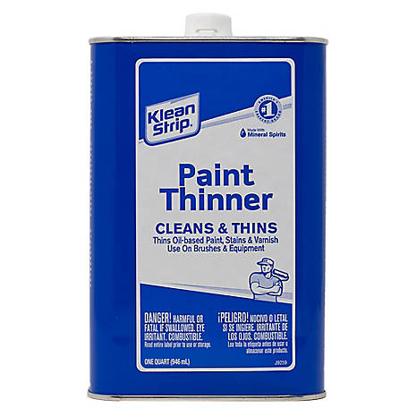 Klean-Strip Paint Thinner qt., 2015, QKPT94003