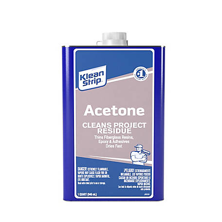 Klean-Strip Acetone Quart, 2615