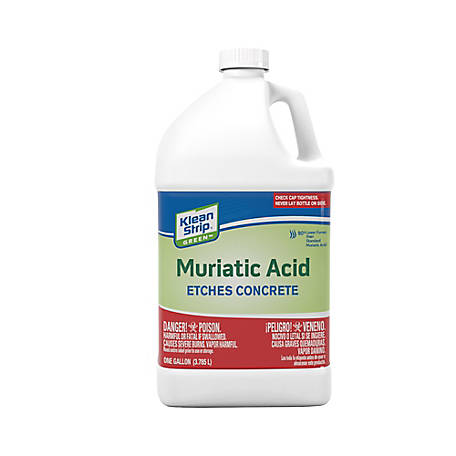 Klean-Strip Green Muriatic Acid Gallon, GKGM75006