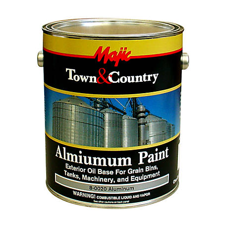 Majic Town & Country Aluminum Paint, 1 gal.