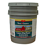 Majic Town & Country Latex Flat Paint, 5 gal., Classic Red