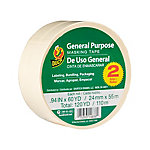 General Purpose Masking Tape, 0.94in x 60yd, Pack of 2