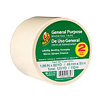General Purpose Masking Tape, 1.88in x 60yd, Pack of 2