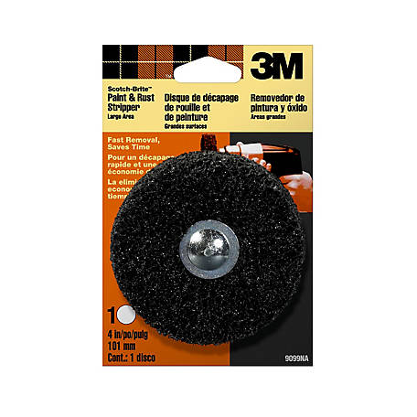 3M Scotch-Brite Paint and Rust Stripper Disk, Large Area