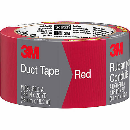 Scotch Red Duct Tape, 1.88 in. x 20 yd.