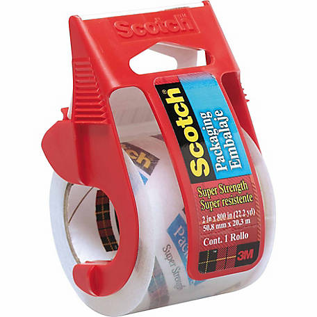 Scotch Heavy-Duty Shipping Packaging Tape, 1 88 in  x 800 in  at Tractor  Supply Co