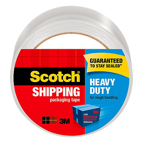 Scotch Heavy-Duty Shipping Packaging Tape, 1.88 in. x 54.6 yd.