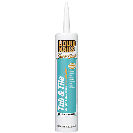 Liquid Nails Tub & Tile Acrylic Latex Caulk