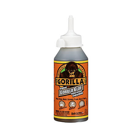 Gorilla Glue Original Glue, 8 oz. Bottle, 5000806