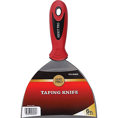 Merit Pro 03035 6 in. Flex Metal Taping Knife
