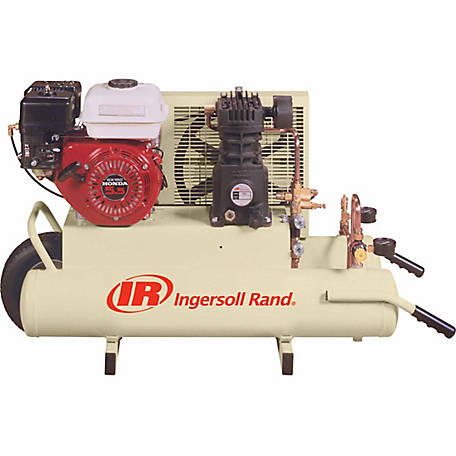 Ingersoll Rand 5-1/2 HP 8 Gallon Gas Wheelbarrow Air Compressor
