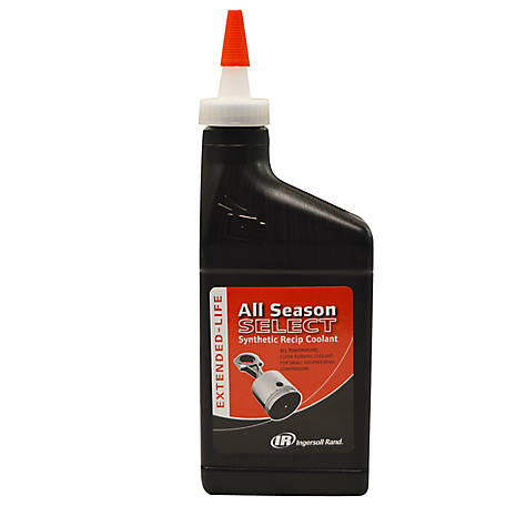 Ingersoll Rand All Season Select Compressor Lubricant, 1/2 Liter