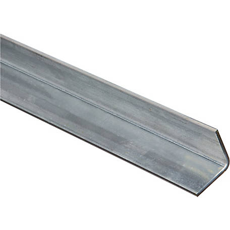 National Hardware 4010BC 1-1/4 in. x 48 in. Solid Angle 1/8 in., Galvanized