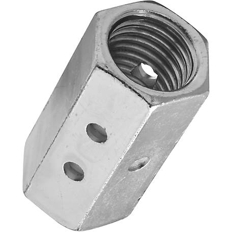 National Hardware 4003BC 1 in. Coupler, Zinc