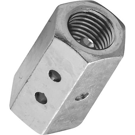 National Hardware 4003BC 7/8 in. Coupler, Zinc