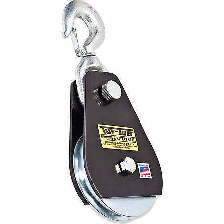 Tuf-Tug 4 in. Swivel Hook Snatch Block