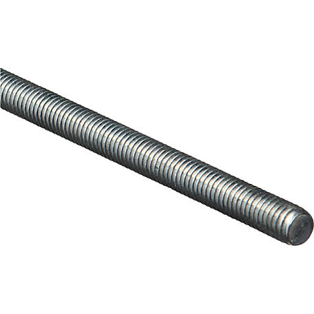 National Hardware 4000BC 7/16 in. x 14 x 36 in. Threaded Rod, Zinc